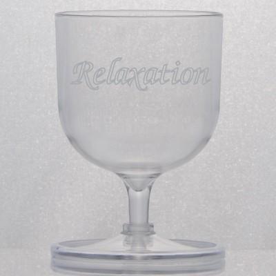 Nonskid Wine Glass