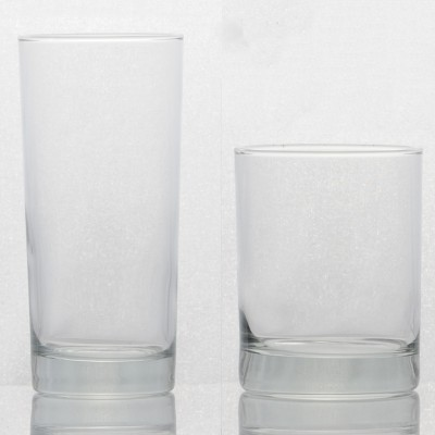 Plain Crystal Tumblers