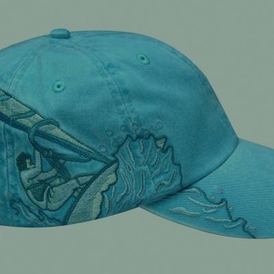 Caribbean Blue Windsurfer Cap
