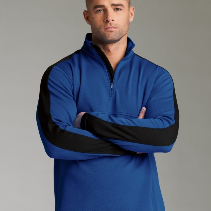 quarter-zip-wicking-pullover