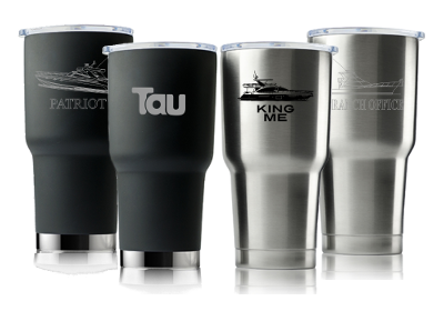 Yachtie 30oz Silver - Printed
